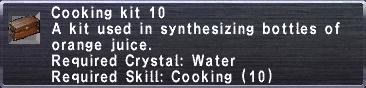 Cooking Kit 10