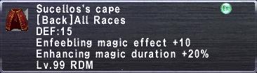 Sucello's Cape