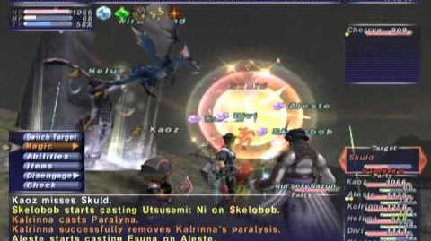 FFXI_NM_Saga_339_Skuld_VNM_Full_Battle