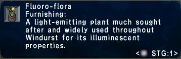 Fluoro-flora