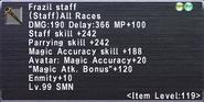 Frazil Staff