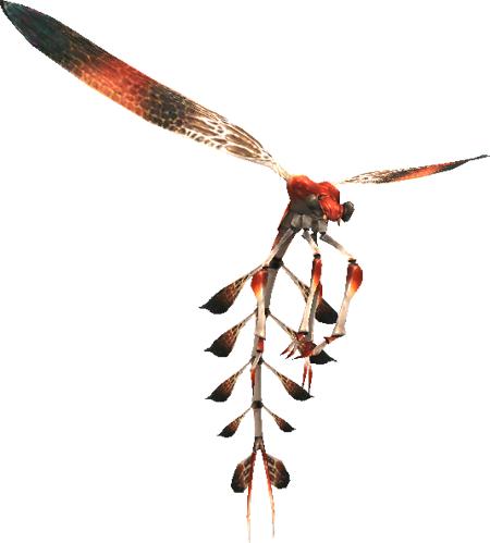 Vermilion Fly (MON)
