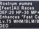 Rostrum Pumps