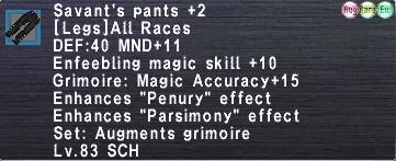 Savant's Pants +2