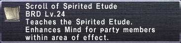Spirited Etude
