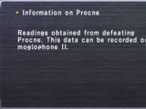 Information on Procne