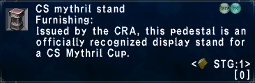 CS Mythril Stand