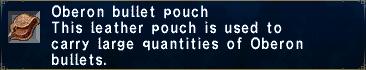 Oberon bullet pouch