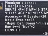 Plunderer's Bonnet