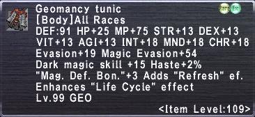 Geomancy Tunic