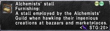 Alchemists' Stall