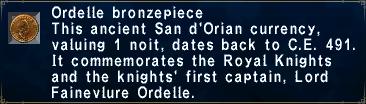 Ordelle Bronzepiece