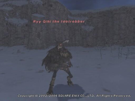 Ryy Qihi the Idolrobber