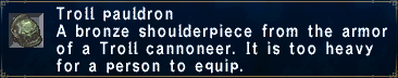 Troll Pauldron