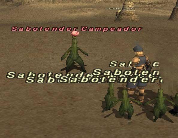 Sabotender Campeador