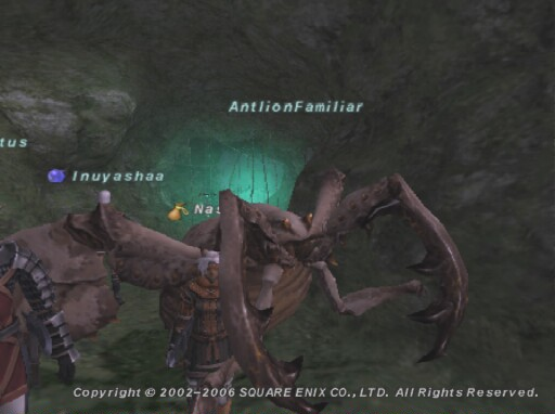 Antlion Familiar