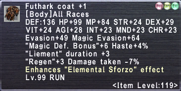 Futhark Coat +1
