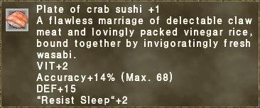 Crab Sushi +1