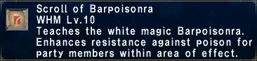 Barpoisonra