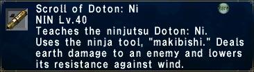 Doton: Ni