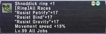 Shneddick Ring +1