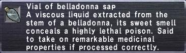Belladonna Sap