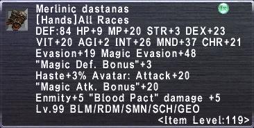 Merlinic Dastanas