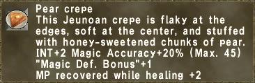 Pear Crepe