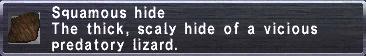 Squamous Hide