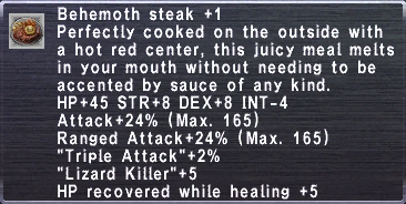 Behemoth Steak +1