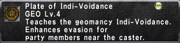 Plate of Indi-Voidance