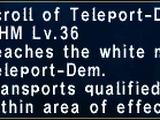 Teleport-Dem