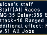 Vulcan's Staff