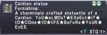 Cardian Statue