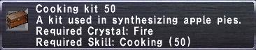 Cooking Kit 50
