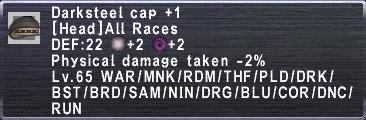 Darksteel Cap +1