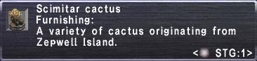 Scimitar Cactus