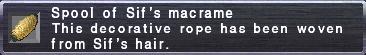 Sif's Macrame
