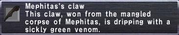 Mephitas's Claw