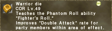Fighter's Roll
