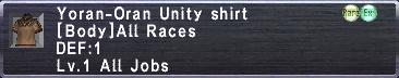 Yoran Unity Shirt