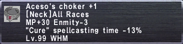 Aceso's Choker +1