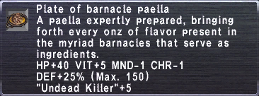Barnacle Paella