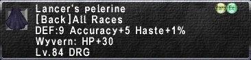Lancer's Pelerine