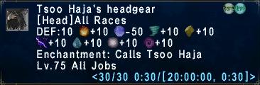 Tsoo Haja's Headgear