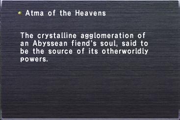 Atma of the Heavens