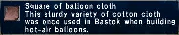 Balloon Cloth