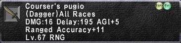 Courser's Pugio