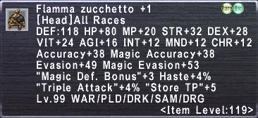 Flamma Zucchetto +1