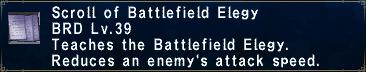 Battlefield Elegy